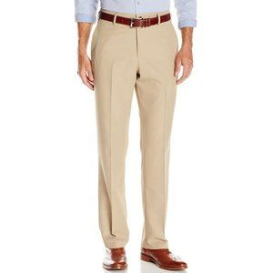 Haggar Men's Performance Straight-Fit Dress Pant